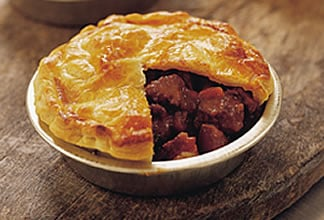 Goat Pies with Tomato and Olive