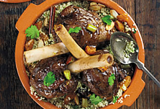 Lamb Shank and Apricot Tagine