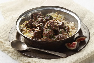 Fig and lamb stew