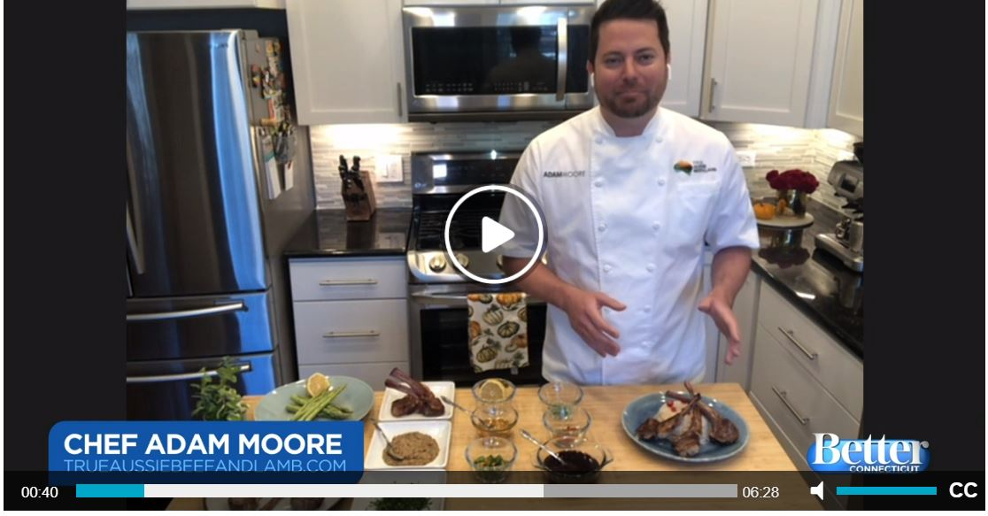Chef Adam Moore Shares Tips for Cooking and Serving Lamb