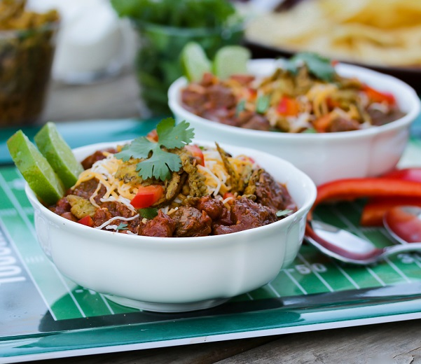 Aussie grassfed beef Game Day chili