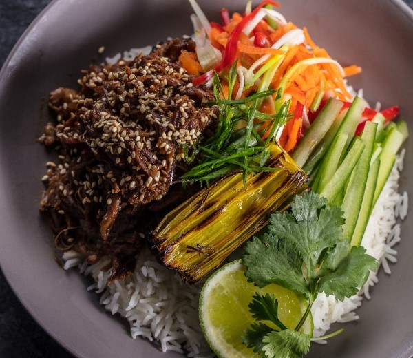 Vietnamese short rib bowl