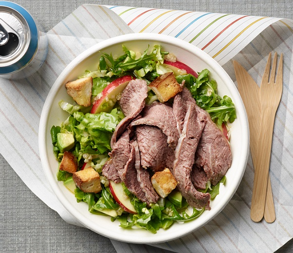 Braised shortrib chopped salad