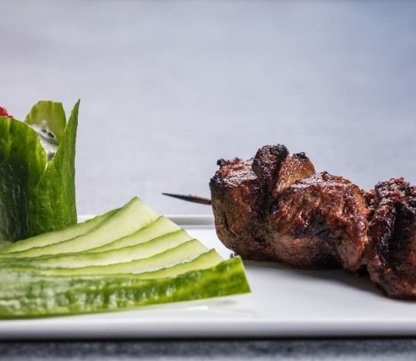The boozy skewer: tequila-chipotle lamb skewers