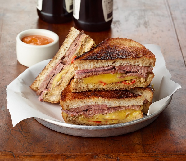 Aussie lamb grilled cheese