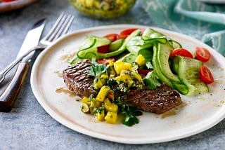 TABLE Cooking Class: Aussie Grassfed Steaks with Almond Mojo