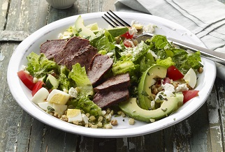 Green Goddess Australian Lamb Cobb Salad
