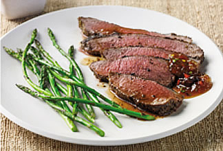 Grilled Spiced Leg of Lamb