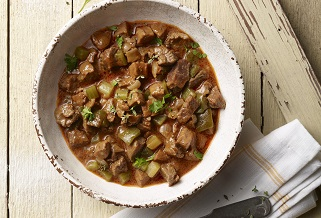Lamb and sausage gumbo