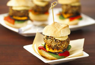 Moroccan lamb sliders