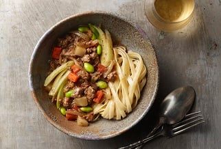 Simple spring lamb ragout